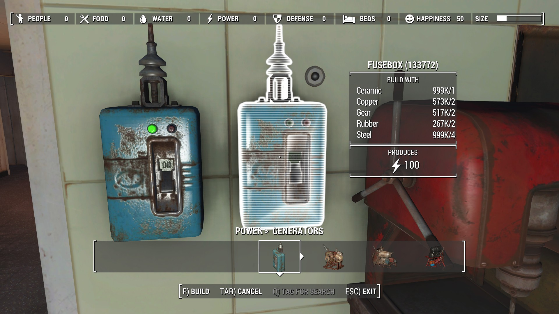 generator fusebox at fallout 4 nexus mods and community