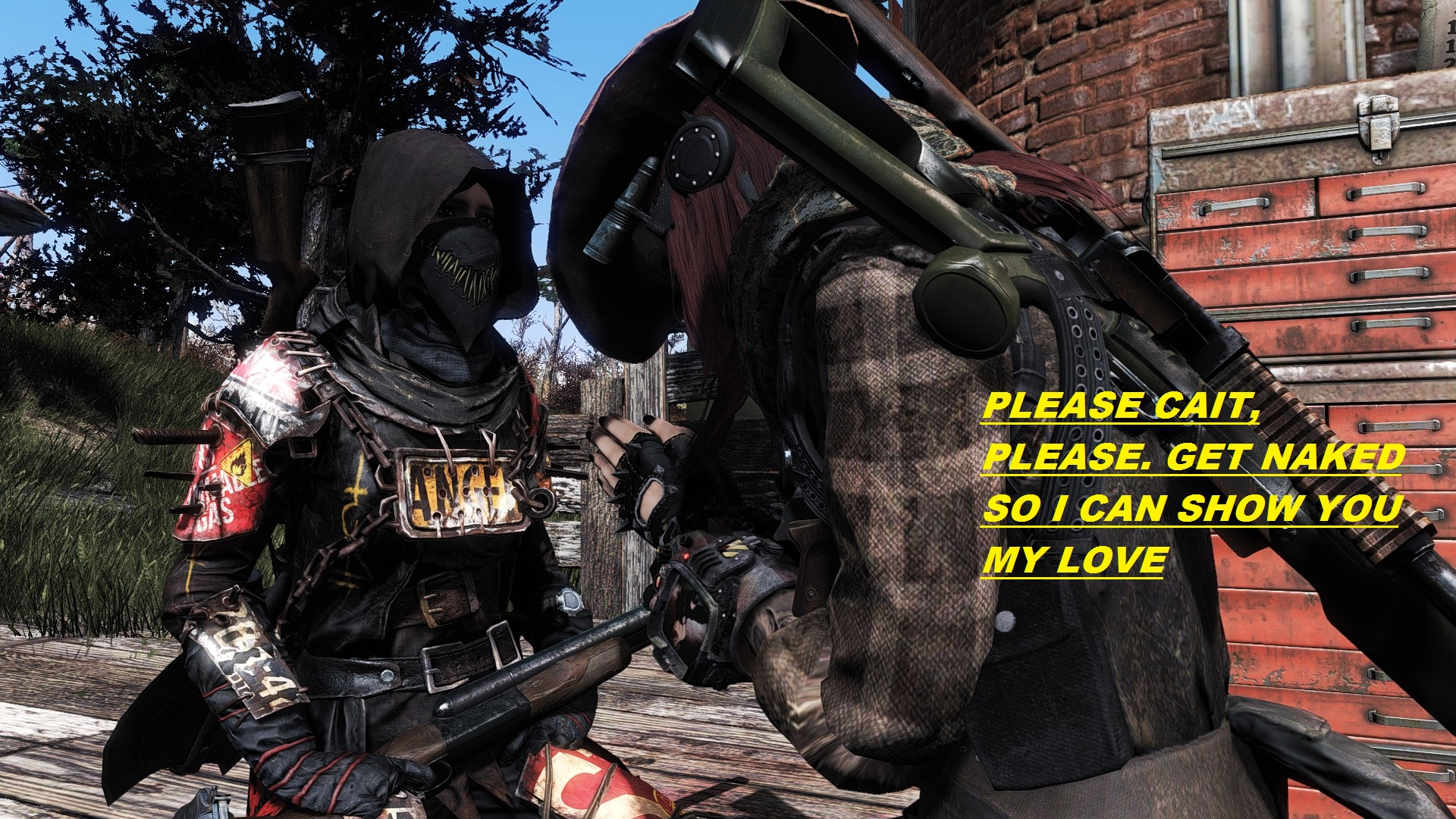Nude Them As You Want at Fallout 4 Nexus - Mods and community