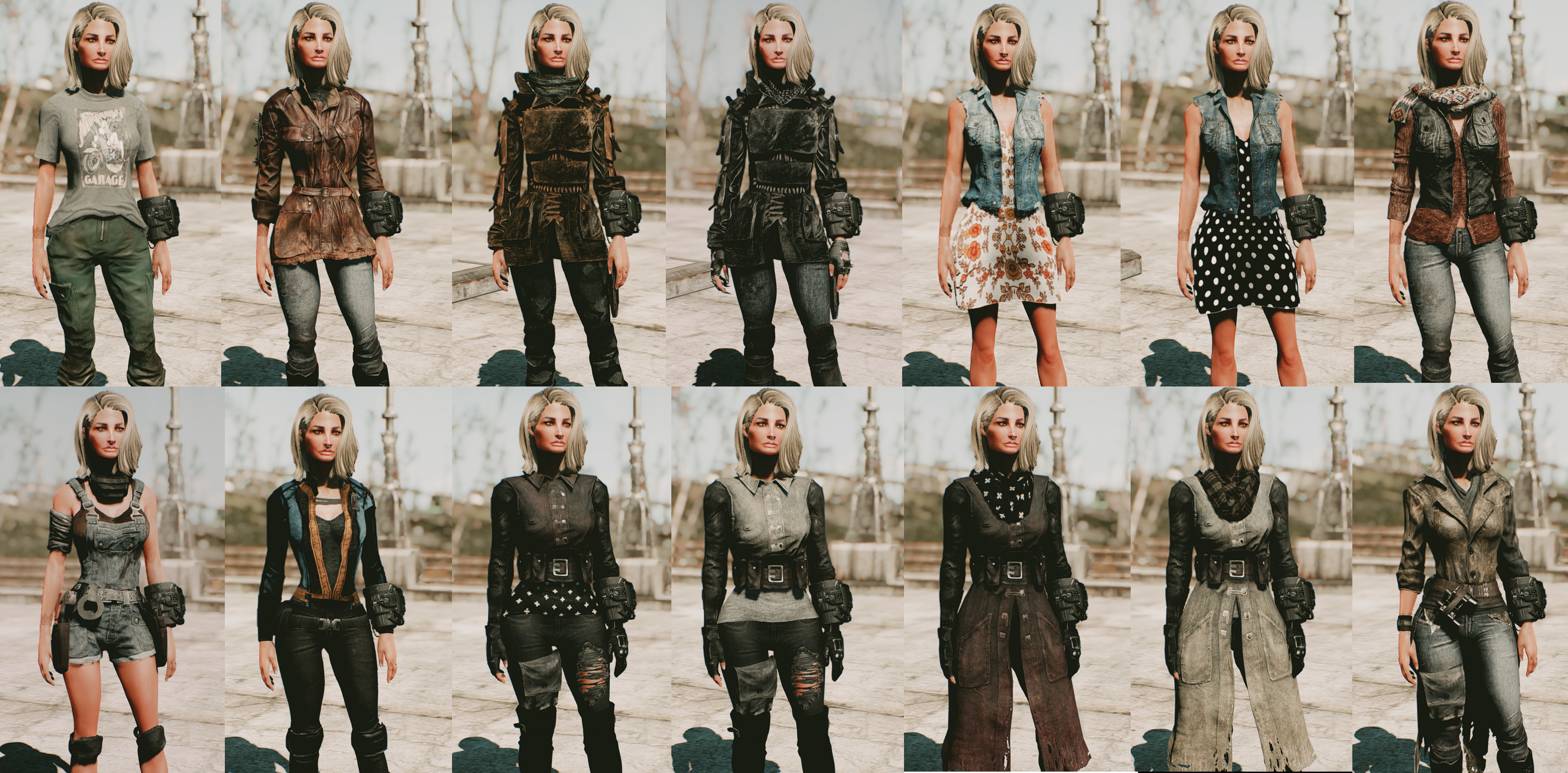 Female Outfit Pack by Femshepping at Fallout 6 Nexus - Mods and