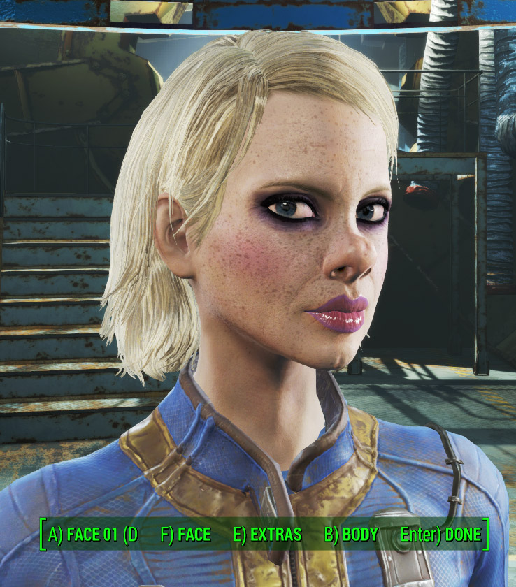Trashy female 1.0 для Fallout 4 - Скриншот 1