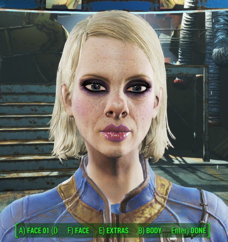Trashy female 1.0 для Fallout 4 - Скриншот 2