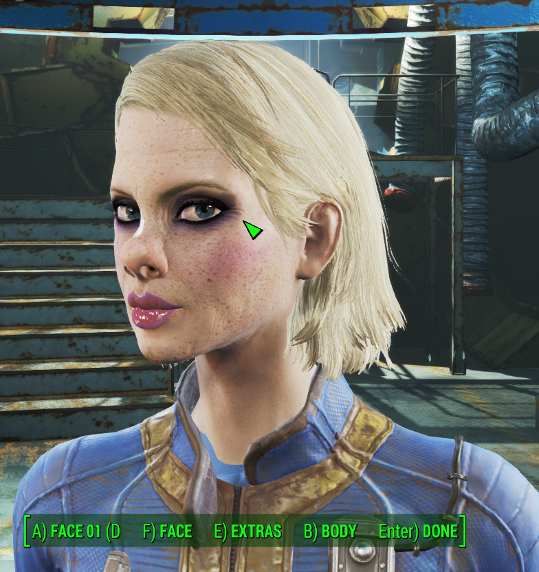 Trashy female 1.0 для Fallout 4 - Скриншот 3