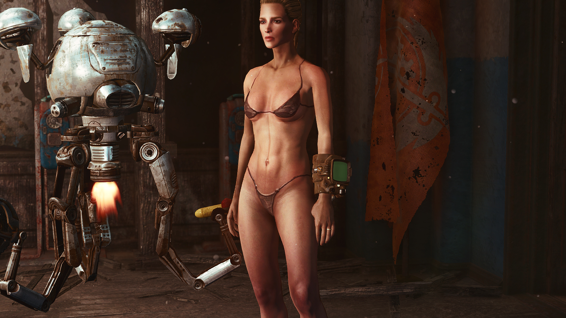 Naked fallout chicks nsfw video