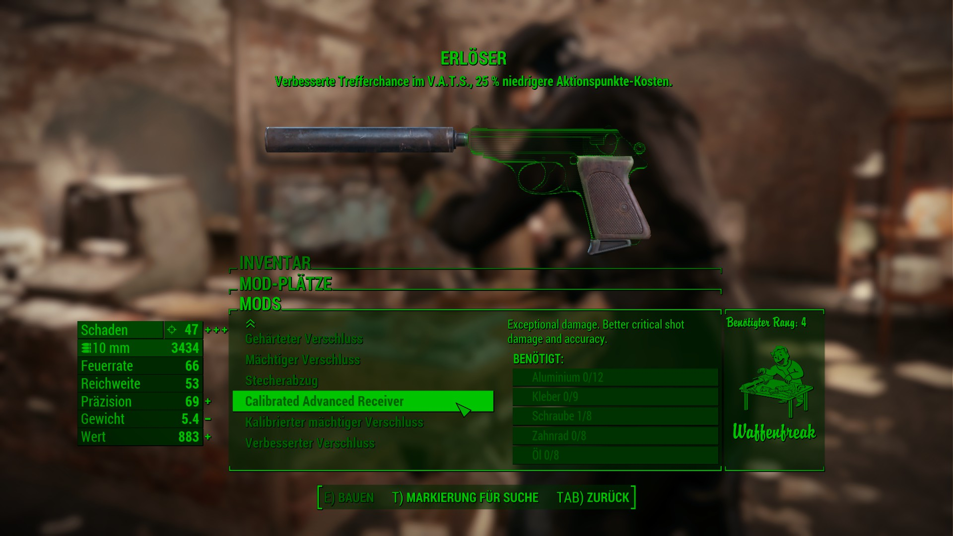 fallout 4 how to put deliverer mods