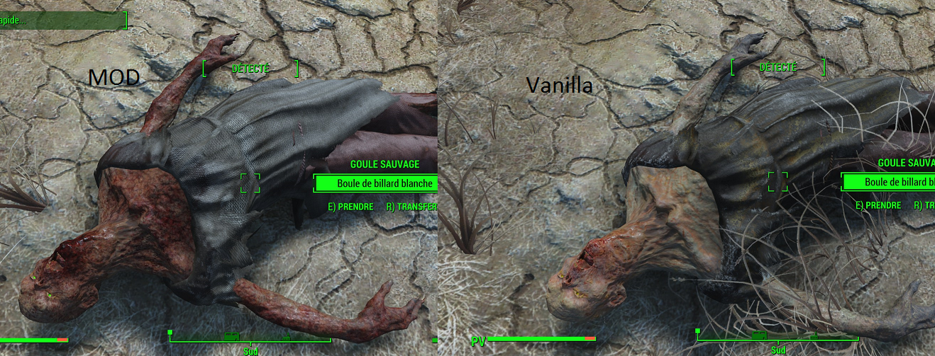 Jesters Better Feral Ghouls Mod / Реалистичные гули 1.0 для Fallout 4 - Скриншот 1