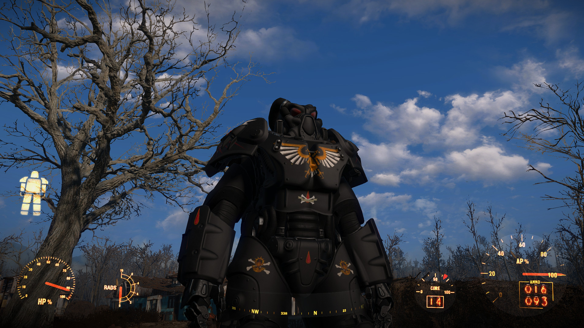 Warhammer 40k death company wallpaper - Blood Angels Death Company Space Marine Power Armour Paint Standalone At Fallout 4 Nexus Mods And Community
