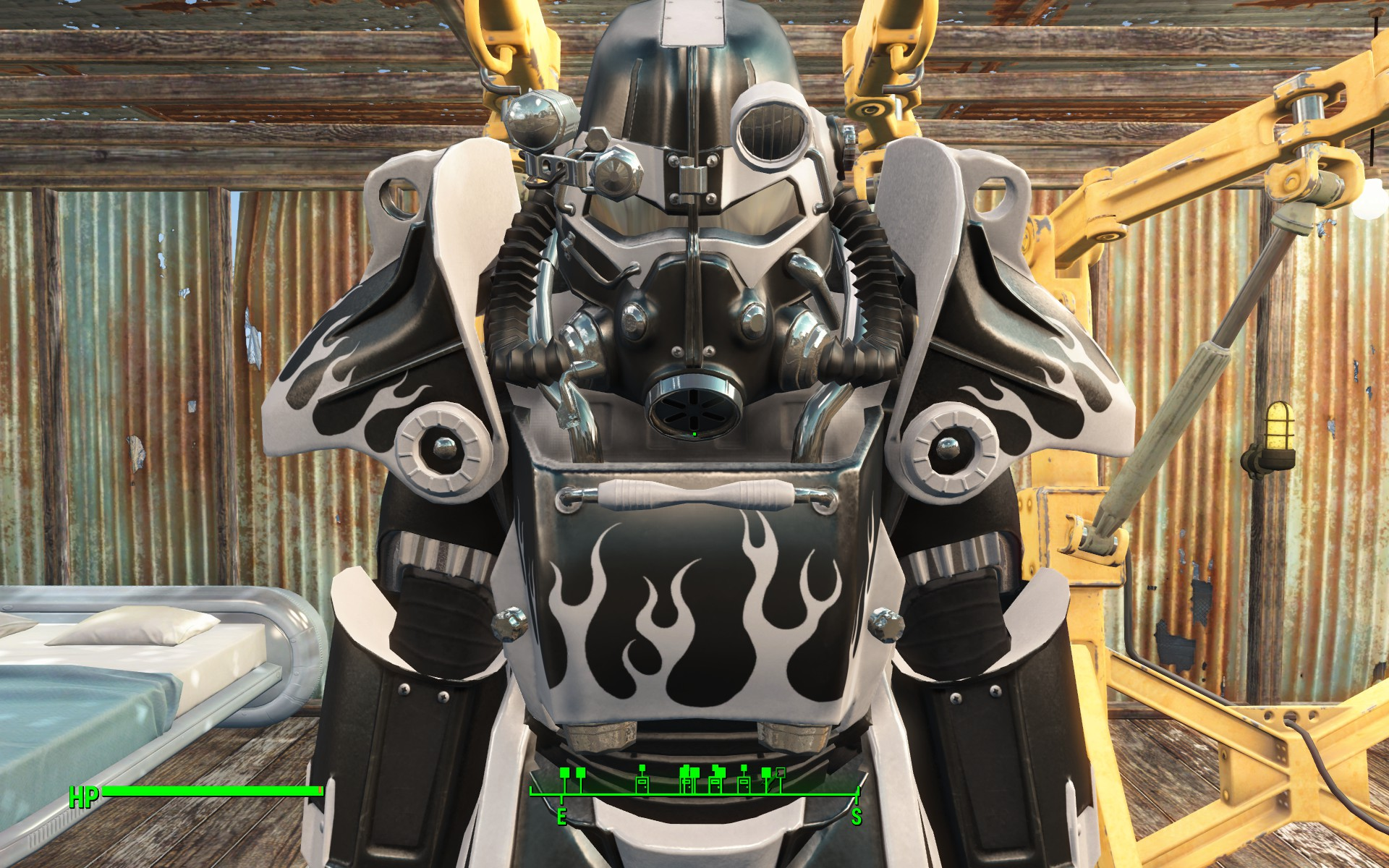 fallout 4 worsins power armour how to get paint jobs