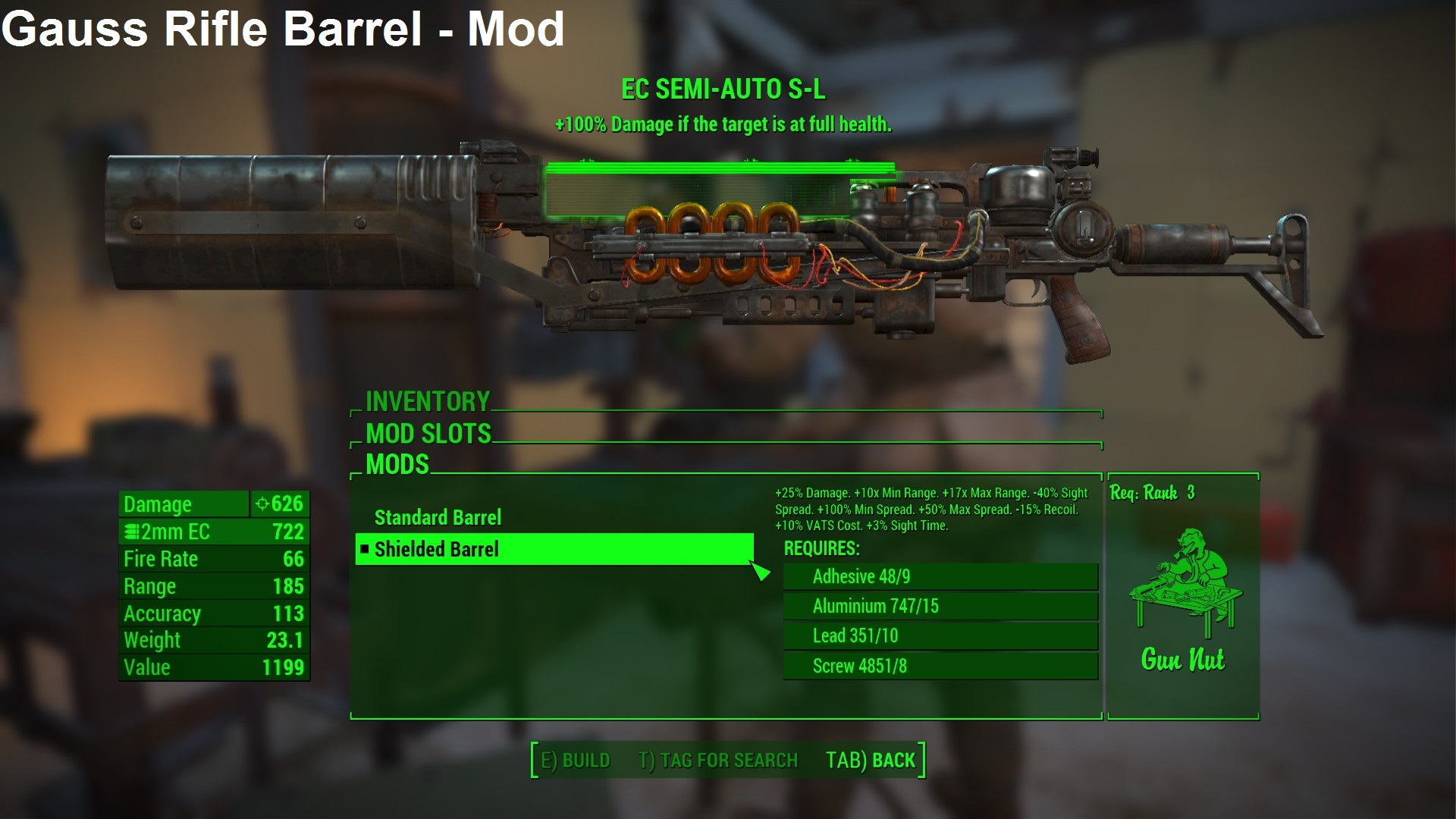 Pfe2lnyiwd6eum Once on the site, click on where it now that fo4edit has been installed and loaded successfully, click on the little + icon next to fallout4.esm, this should expand the list of almost everything in fallout. http chazu arkku net mod fo4 fallout4 mods html