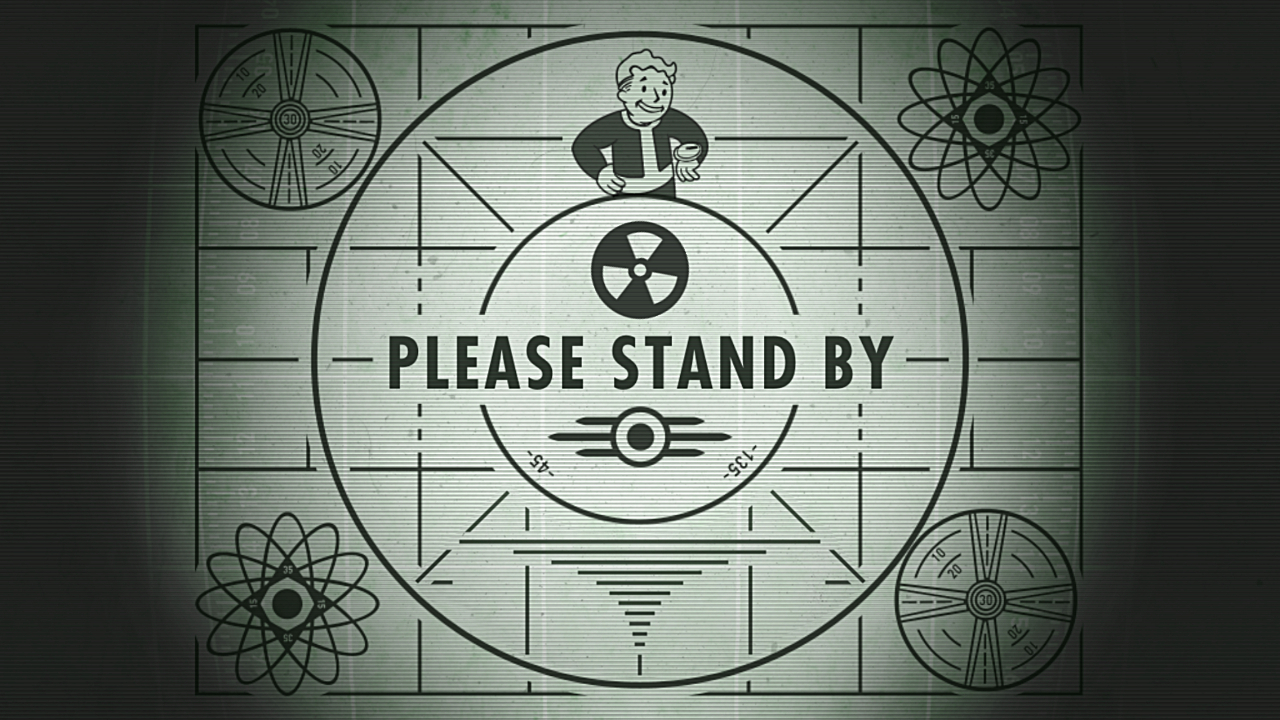 Image result for please stand by