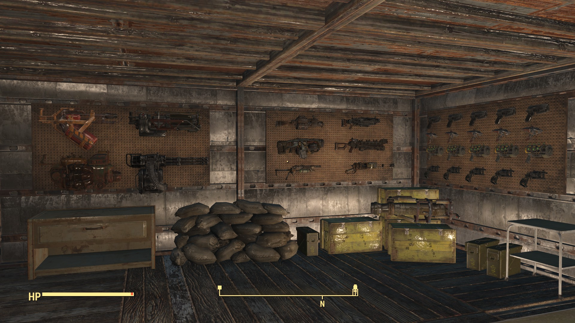 Functional weapon racks display your collection at for Fallout 4 decorations