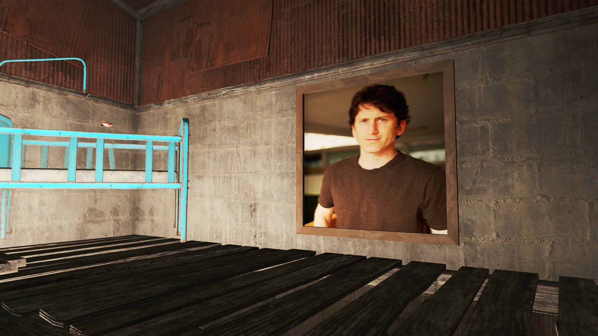 Todd Howard Portrait At Fallout 4 Nexus Mods And Community
