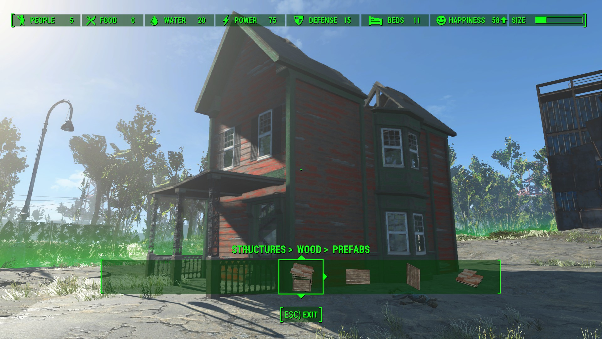 Ploppable houses at fallout 4 nexus mods and community House build