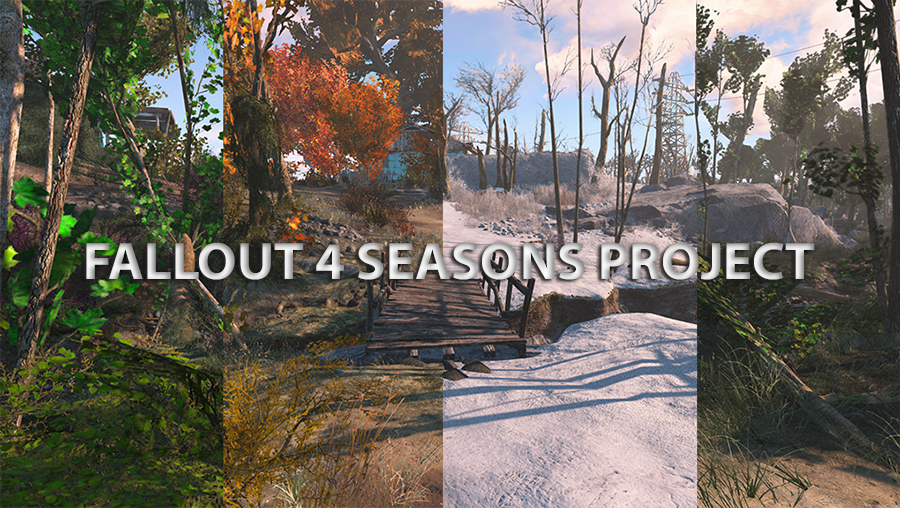 Fallout 4 Seasons Grass Trees Plants Snow At Fallout 4 Nexus Mods And Community