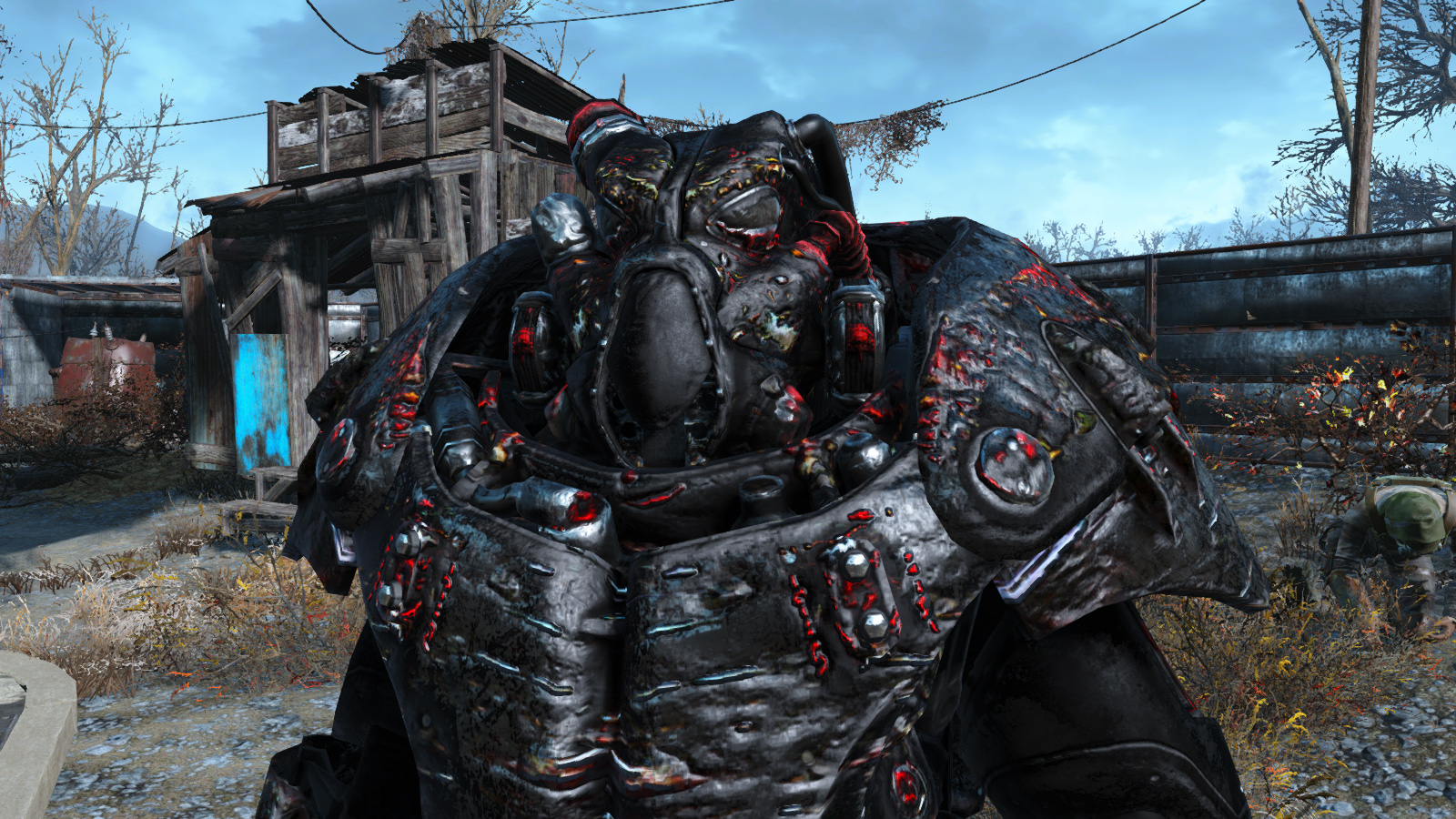 Daedric Powerarmor X01 At Fallout 4 Nexus Mods And Community