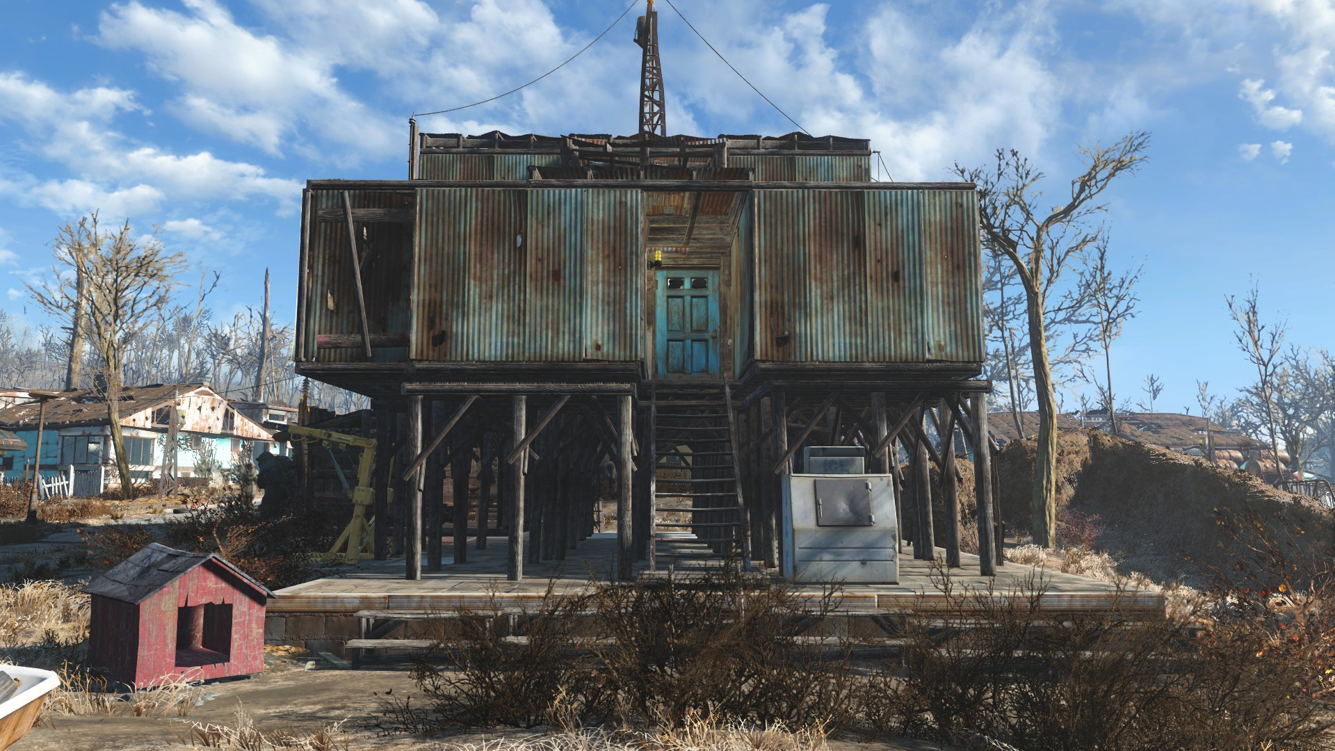 Sanctuary fort at fallout 4 nexus mods and community for Best house designs fallout 4