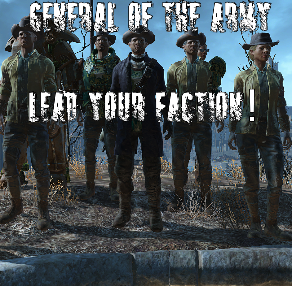 Fallout  Build Your Own Faction Mod