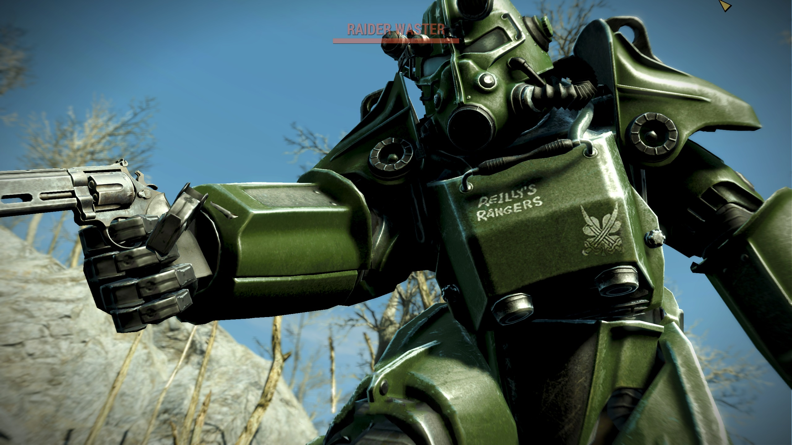 how to get out of power suit in fallout 4