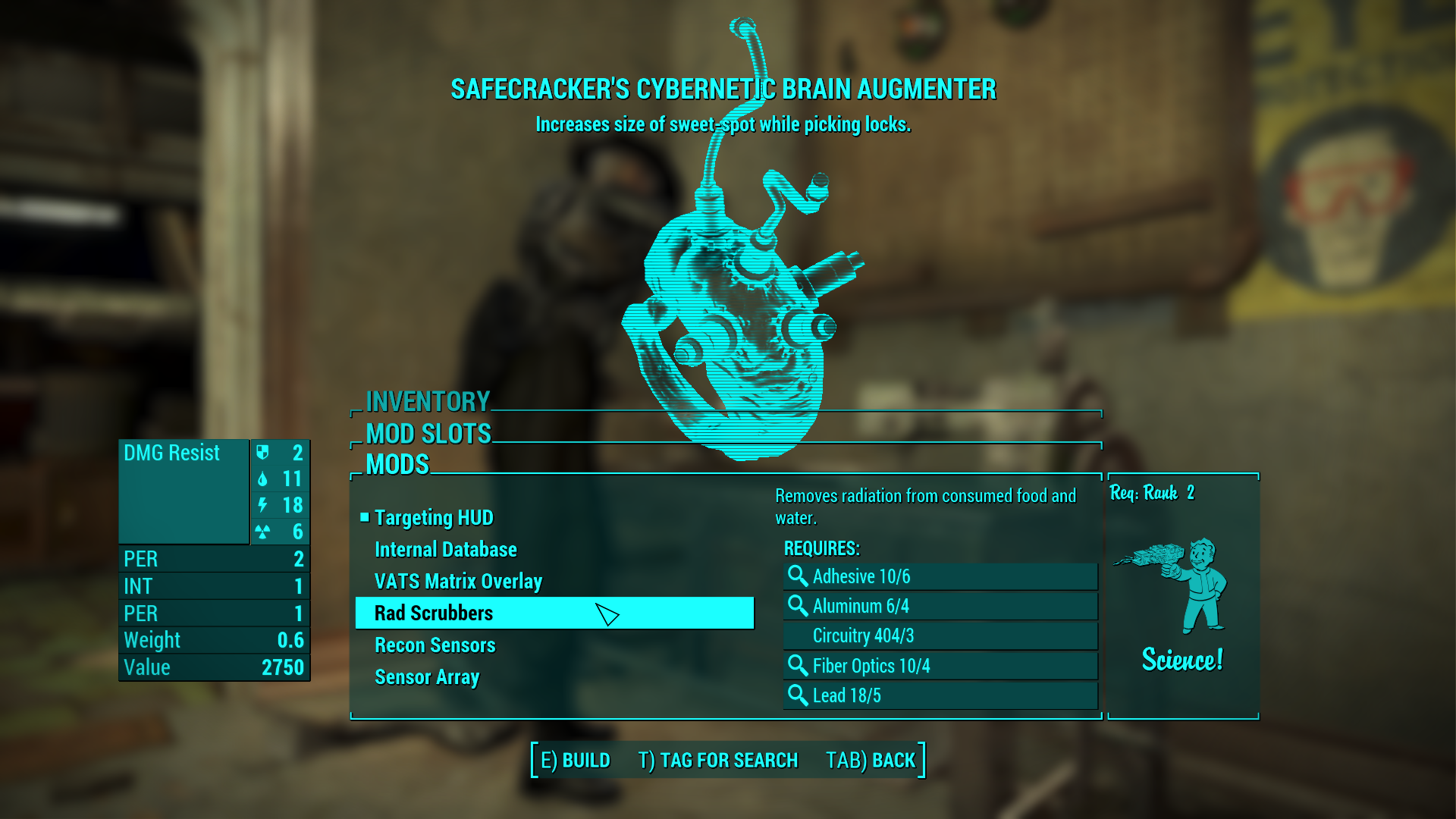Research Projects Advanced Technology At Fallout 4 Nexus
