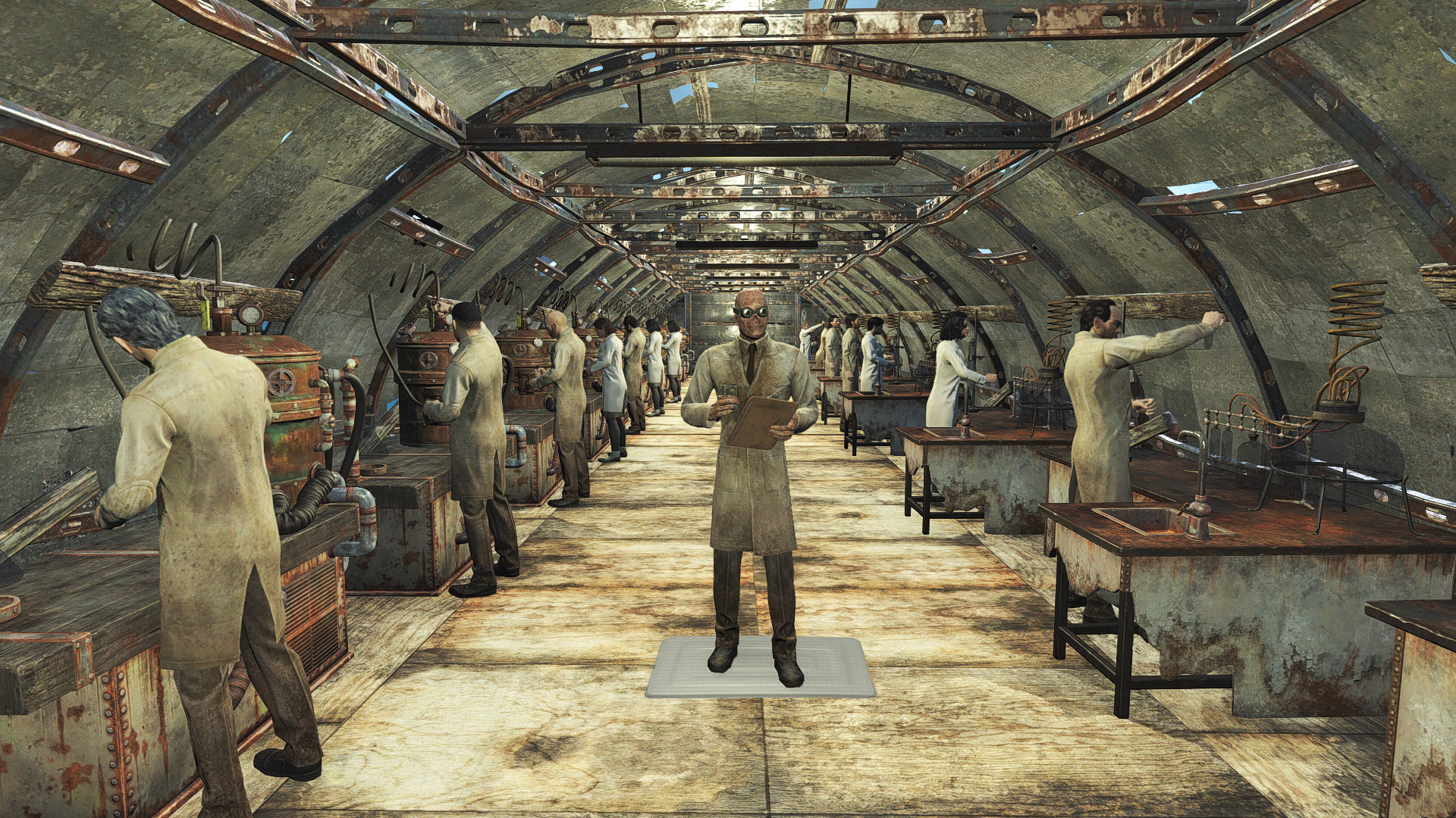 Fallout  Mods Craft Settlers