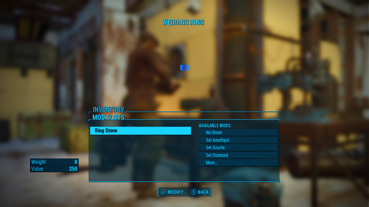Modifiable Wedding Rings at Fallout 4 Nexus Mods and community