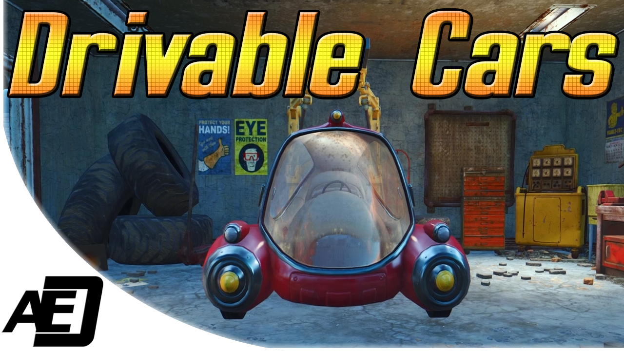 Drivable Cars The Studio At Fallout 4 Nexus Mods And Community