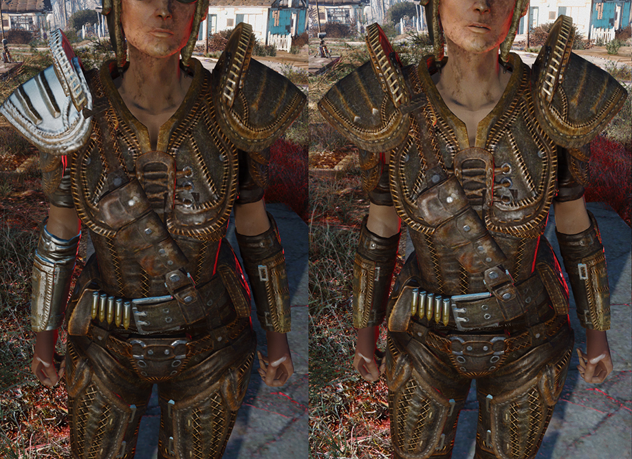 Leather armor bugfix vanilla and cbbe at fallout 4 nexus mods and