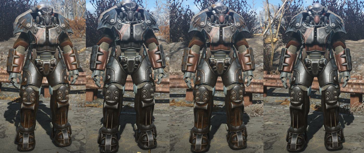 Fallout  Brotherhood Elder Paint Job