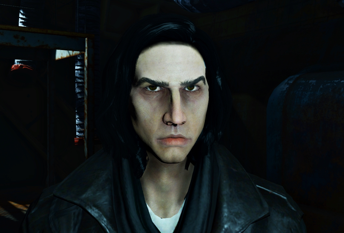 kylo ren adam driver v2 0 at fallout 4 nexus mods and community. Black Bedroom Furniture Sets. Home Design Ideas