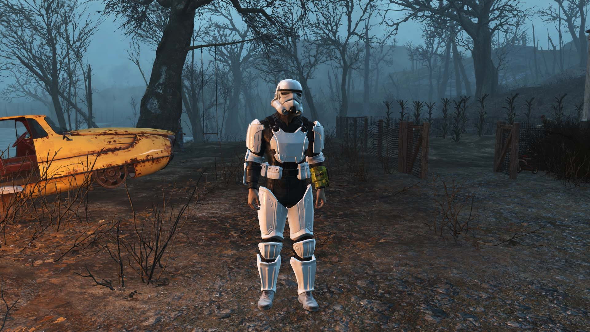 Stormtrooper Combat Armour Variants And Black Bodyglove