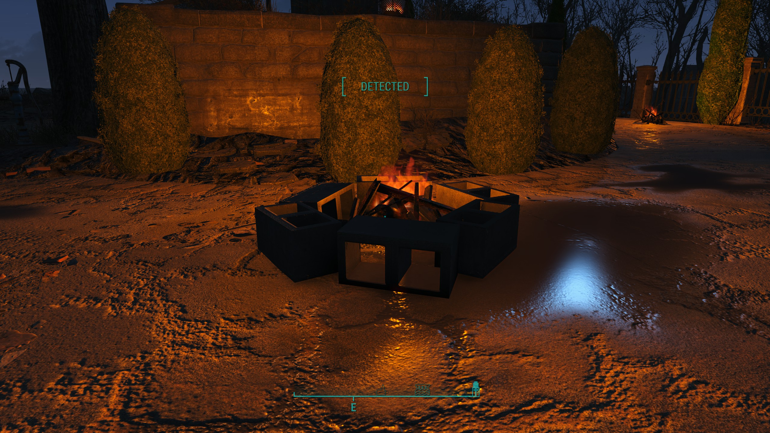 Fireplace Simulator Part - 26: Buildable Burning Campfires And Fireplaces V3.0 At Fallout 4 Nexus - Mods  And Community