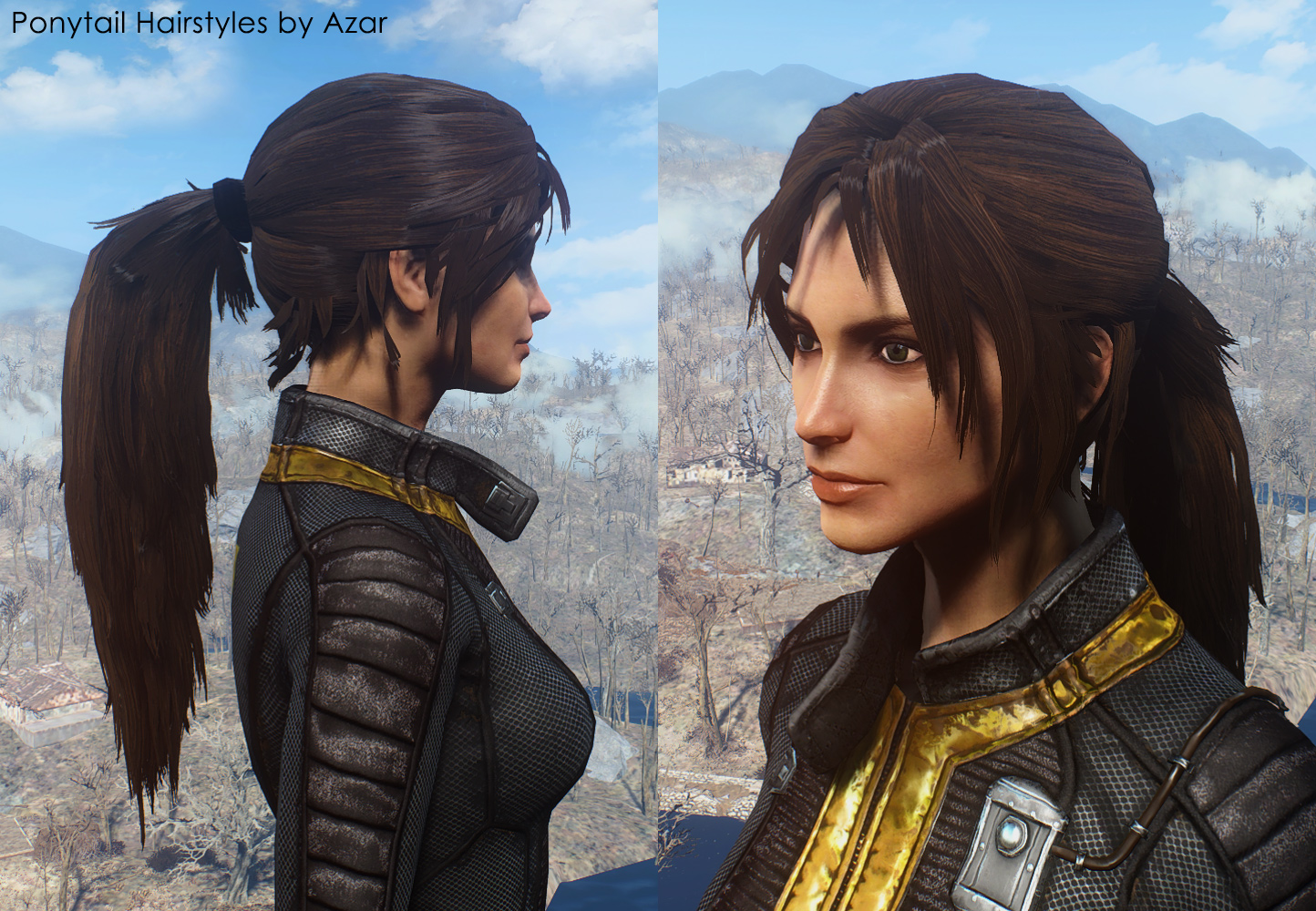 fallout 4 how to change gender ps4