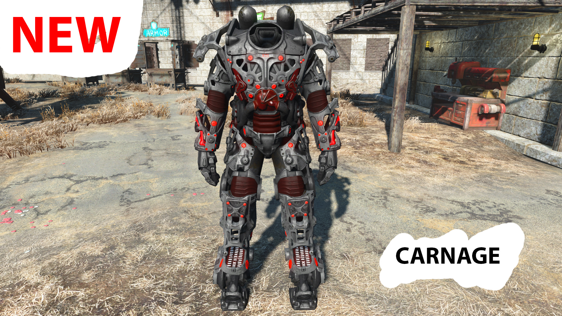 fallout 4 how to get out of power armor pc