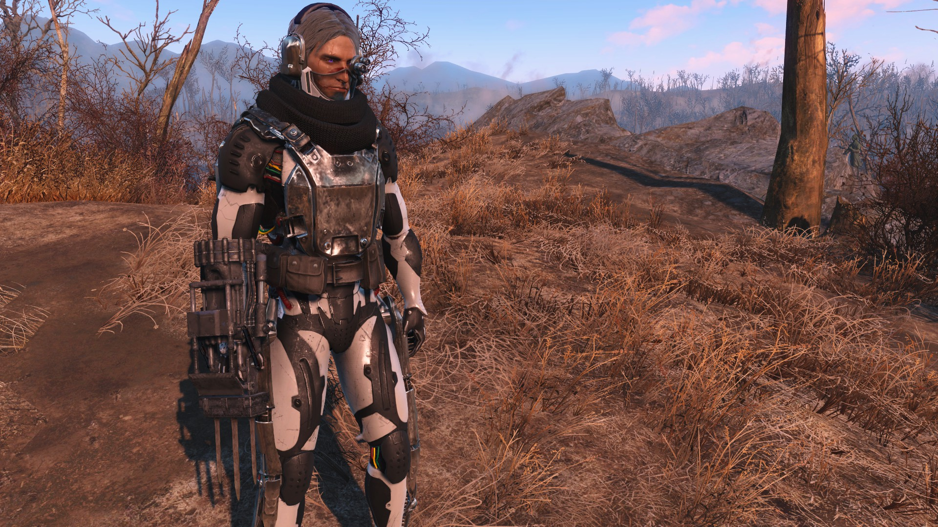 FO4] Does anyone know what mod this robotic armor is from