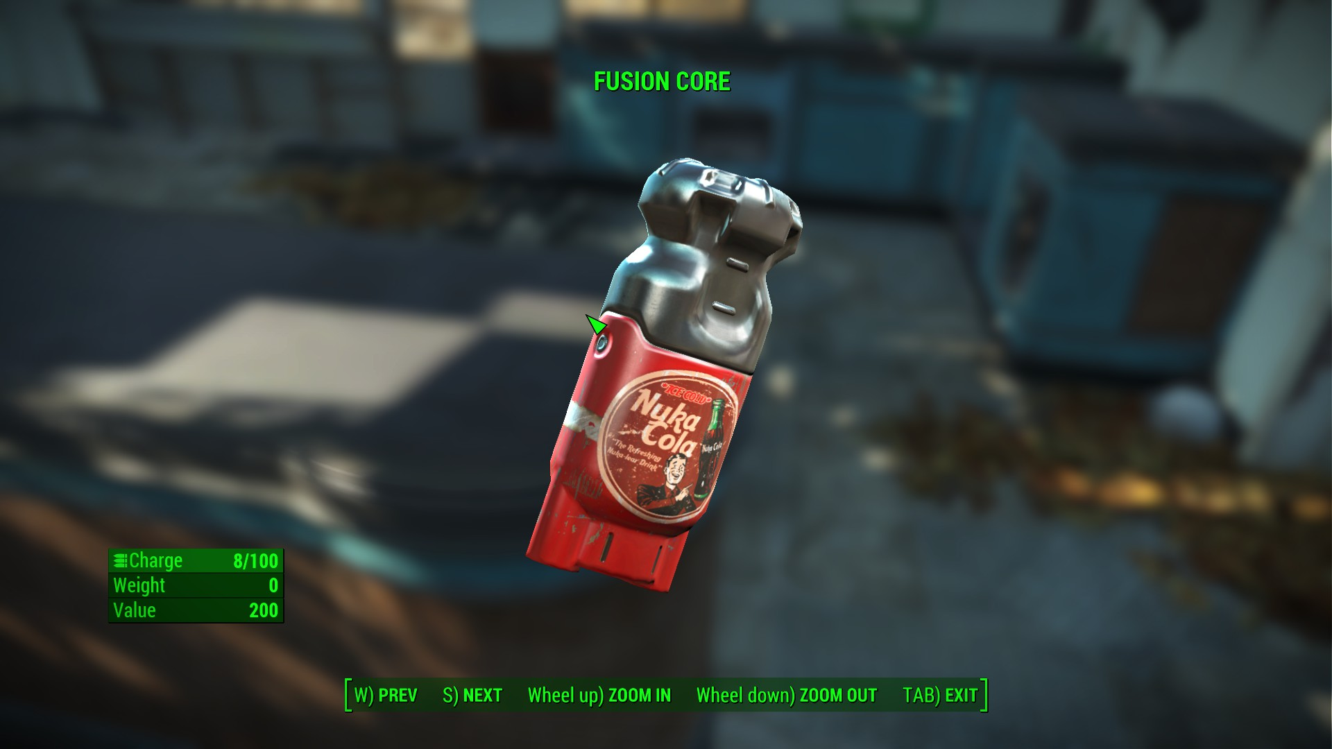 Nuka Cola Fusion Core Retexture At Fallout 4 Nexus Mods And