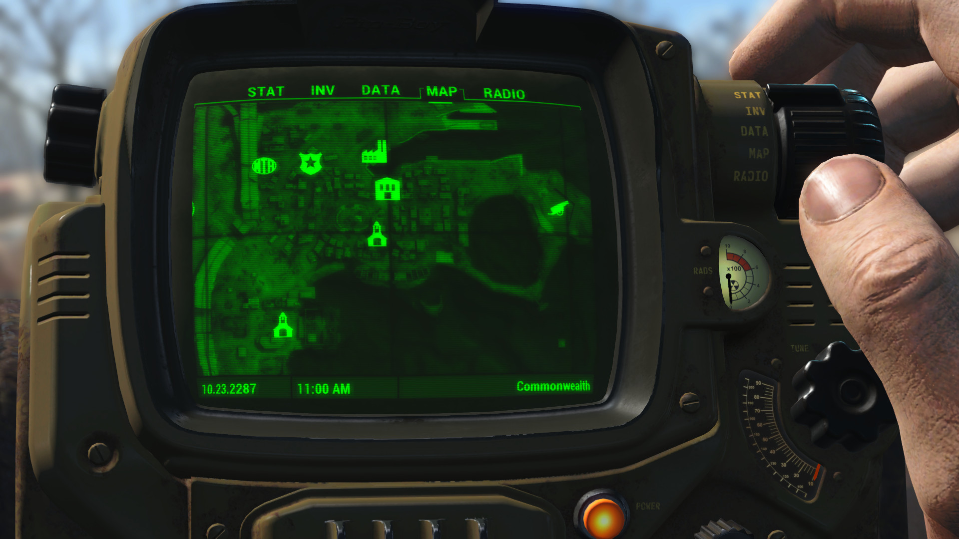 Satellite World Map At Fallout 4 Nexus Mods And Community
