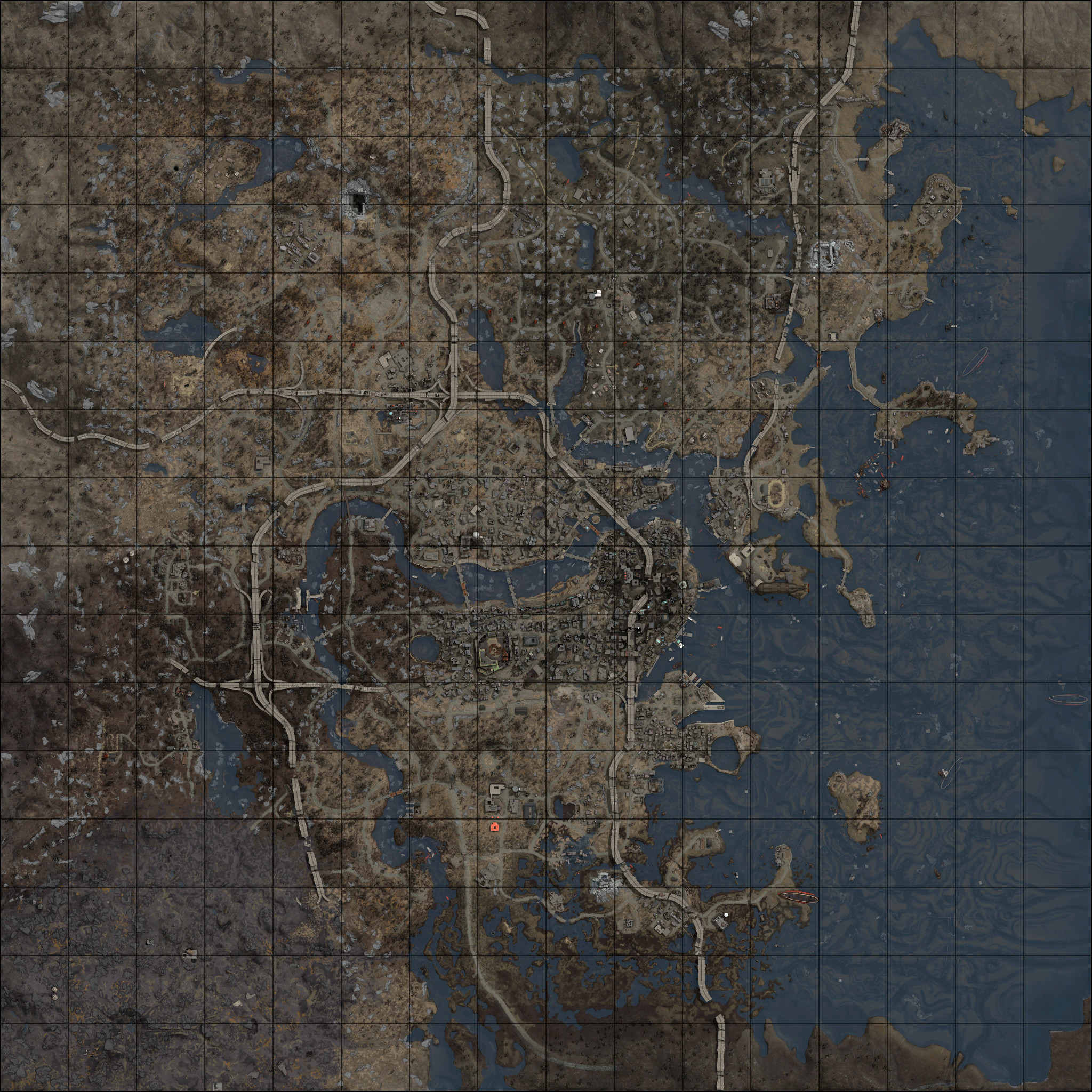 Fallout 4 World Map | World Map