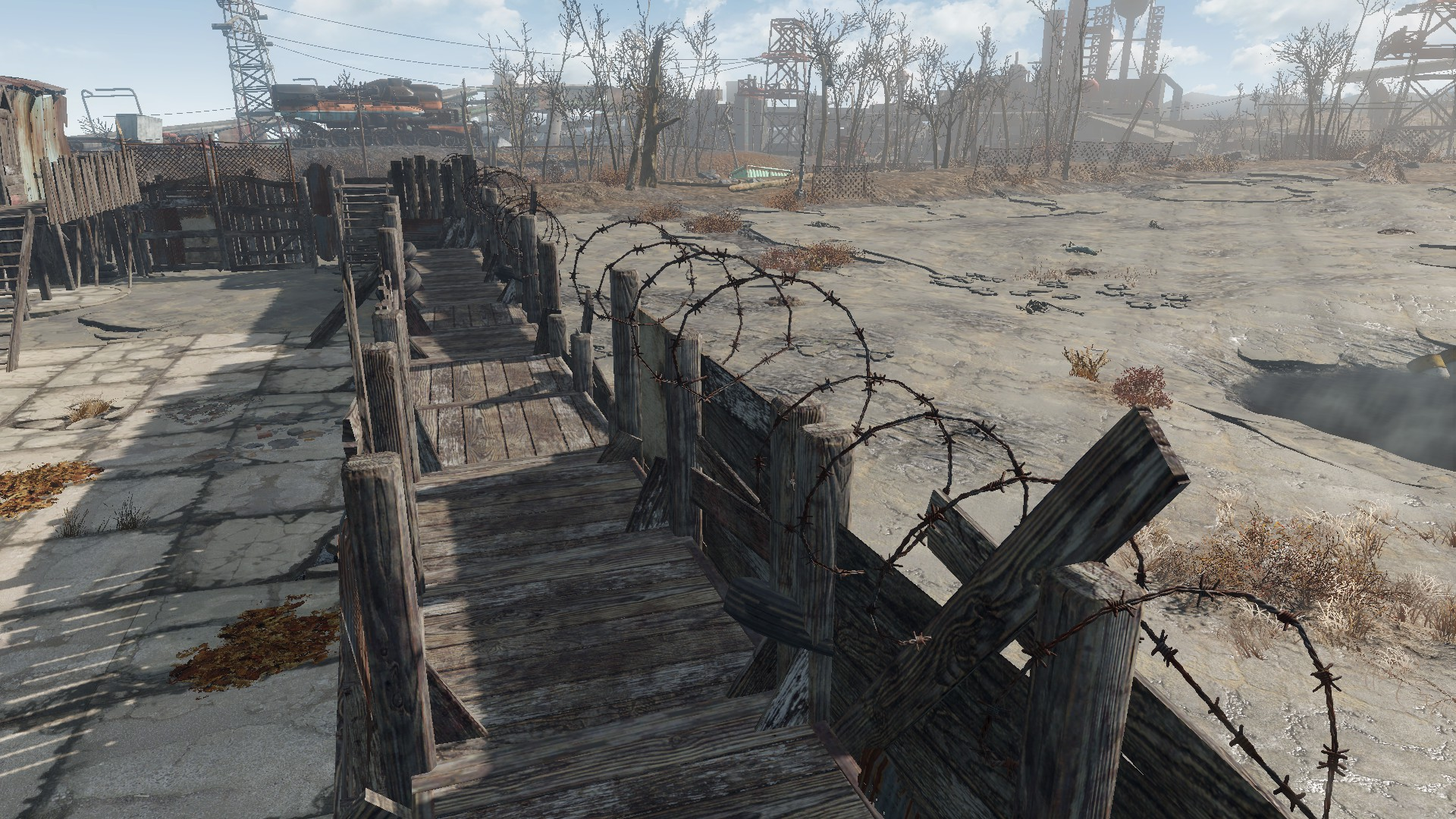 Snappable Junk Fences