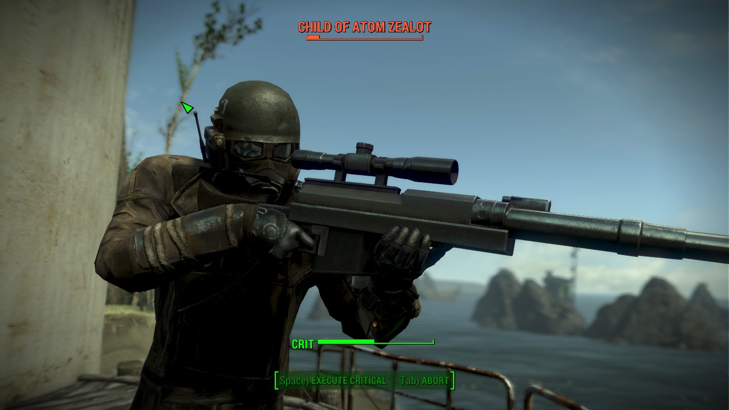 Sneaky Sniper Build Fallout