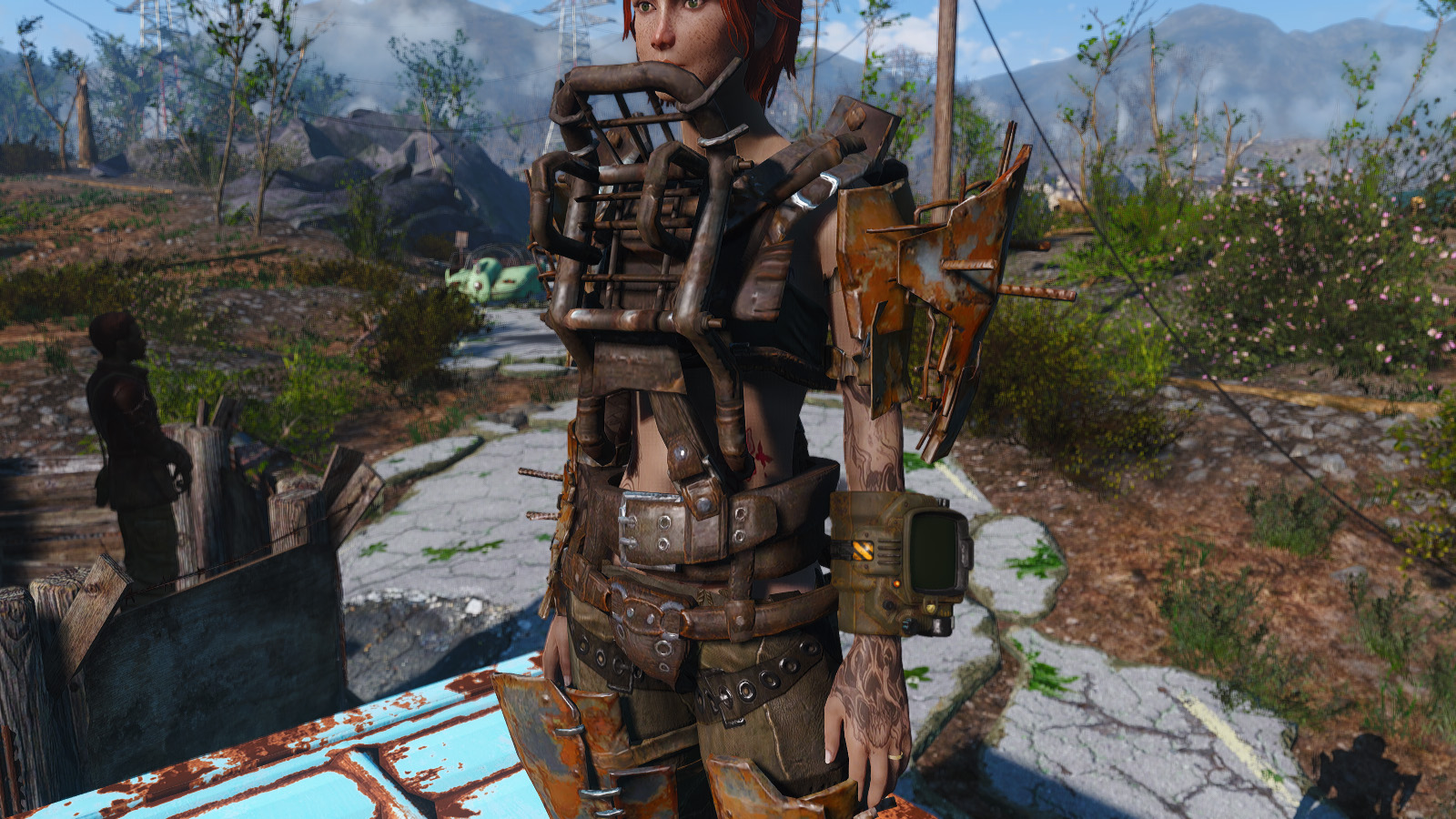 Fallout  Raider Overboss Build Power Armour