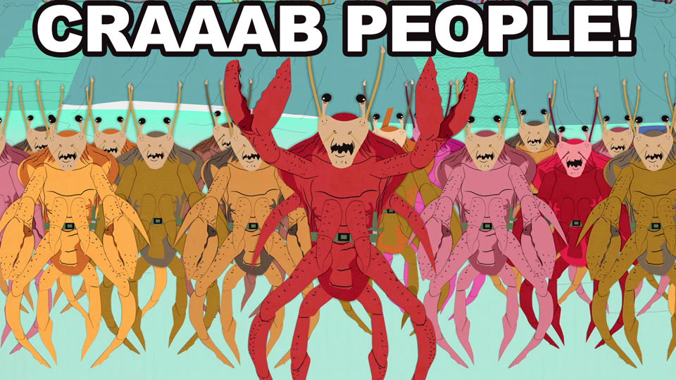 Image result for crab people