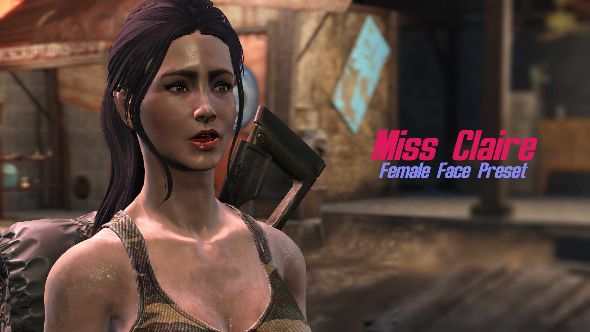 Miss Claire - female face preset at Fallout 4 Nexus - Mods