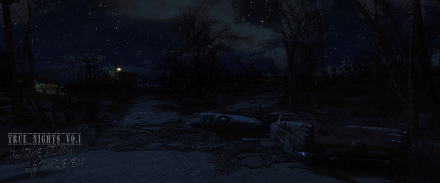 True Nights (for True Storms with ENB) at Fallout 4 Nexus - Mods and