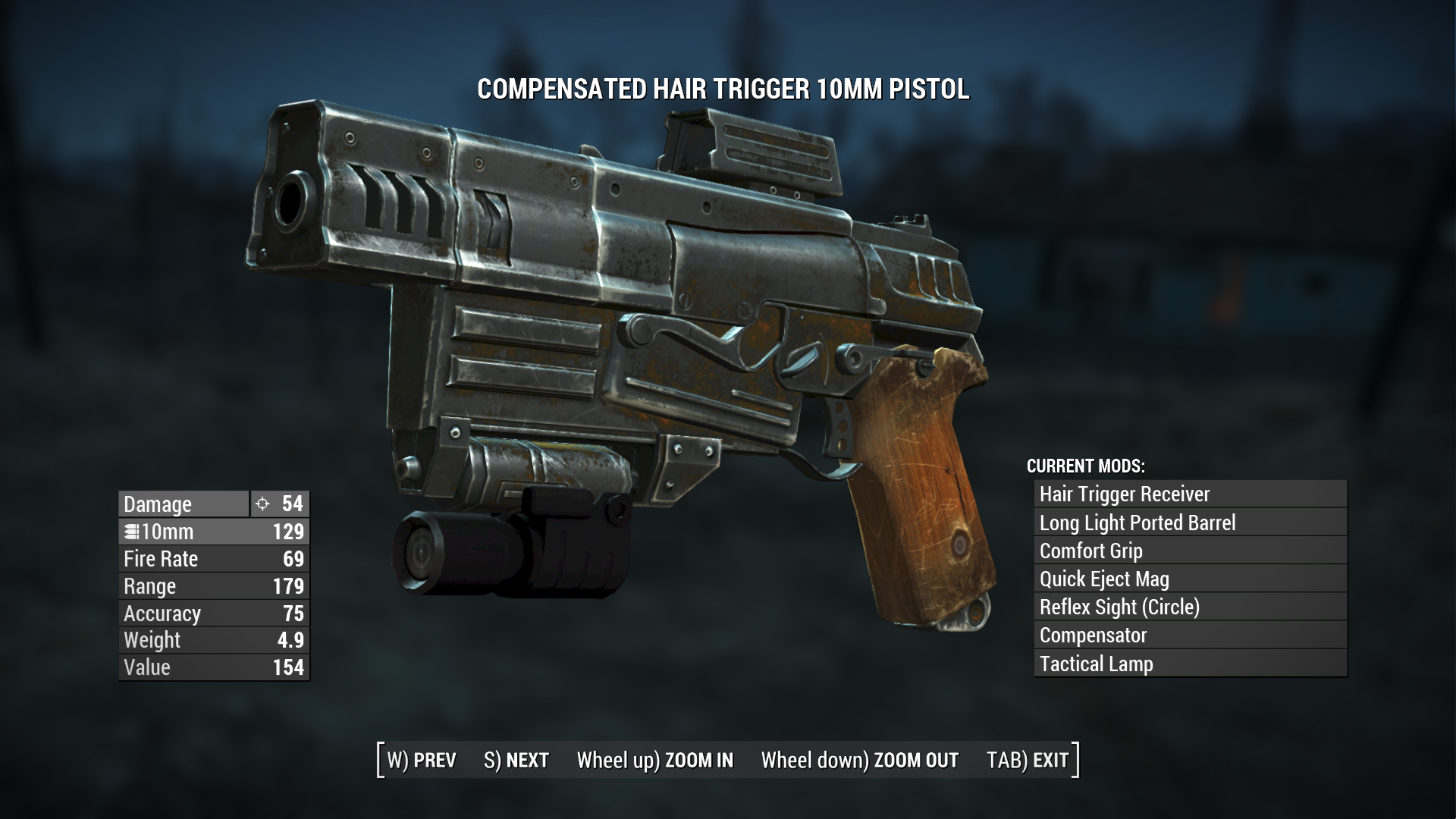 Tactical Weapon Lamps - BETA at Fallout 4 Nexus - Mods and community