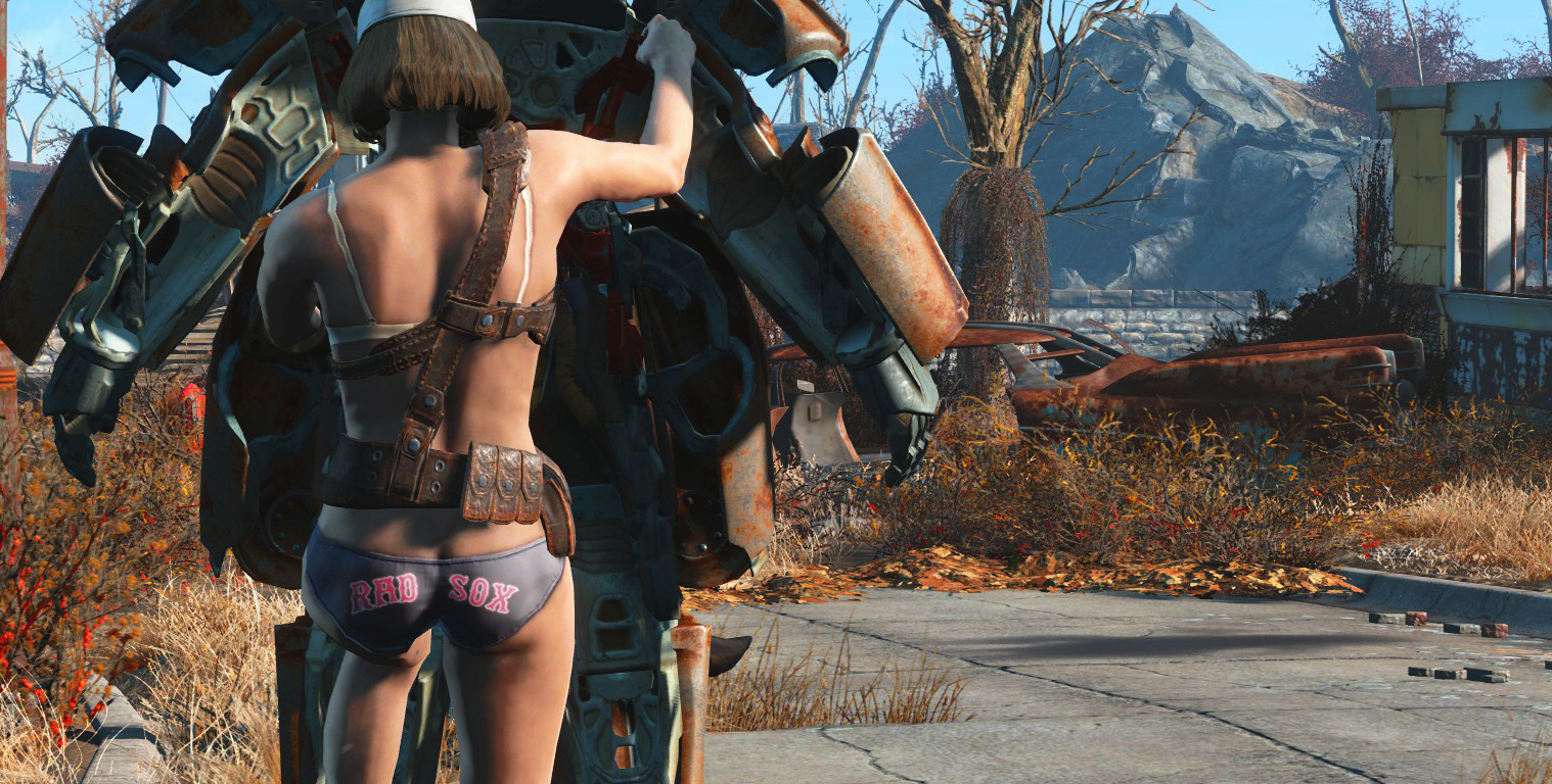 How to be naked in fallout 4 sexy photos