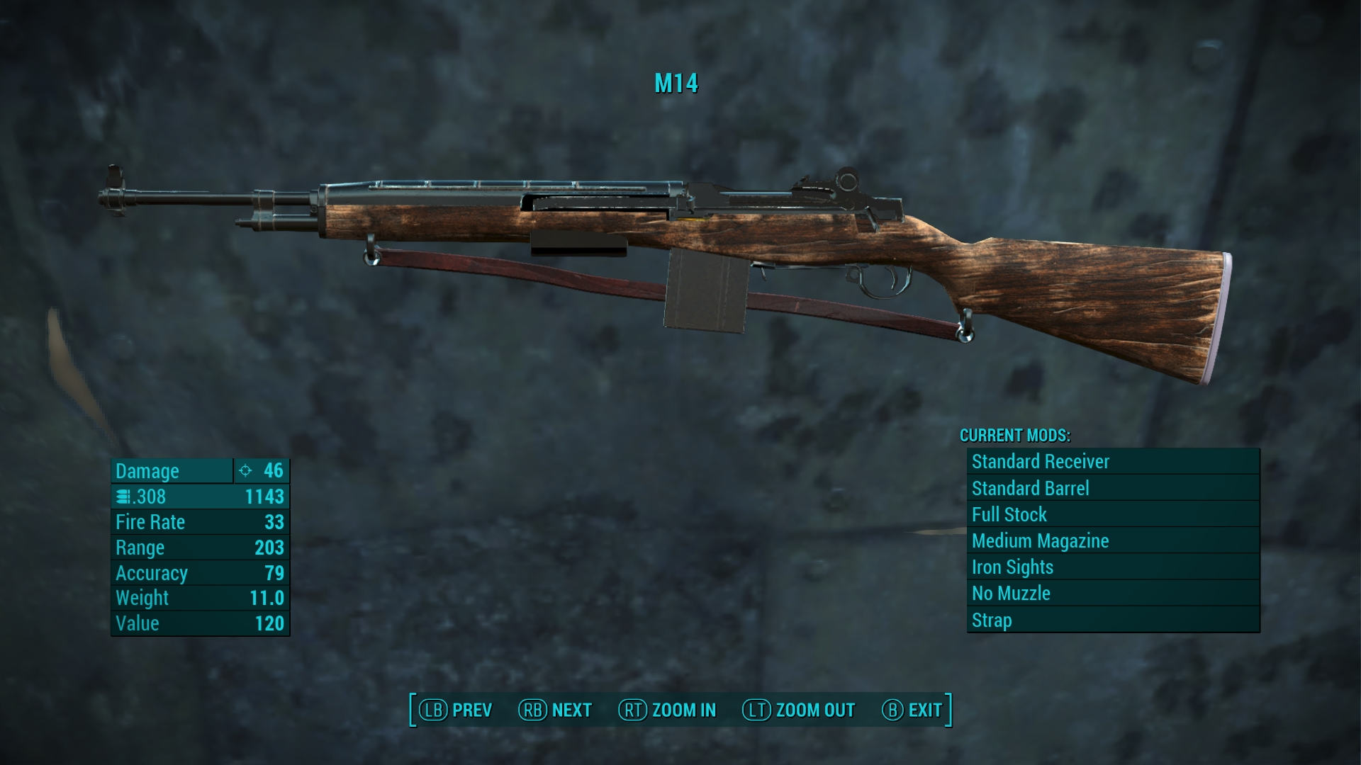 The M14 Standalone Rifle at Fallout 4 Nexus - Mods and ...