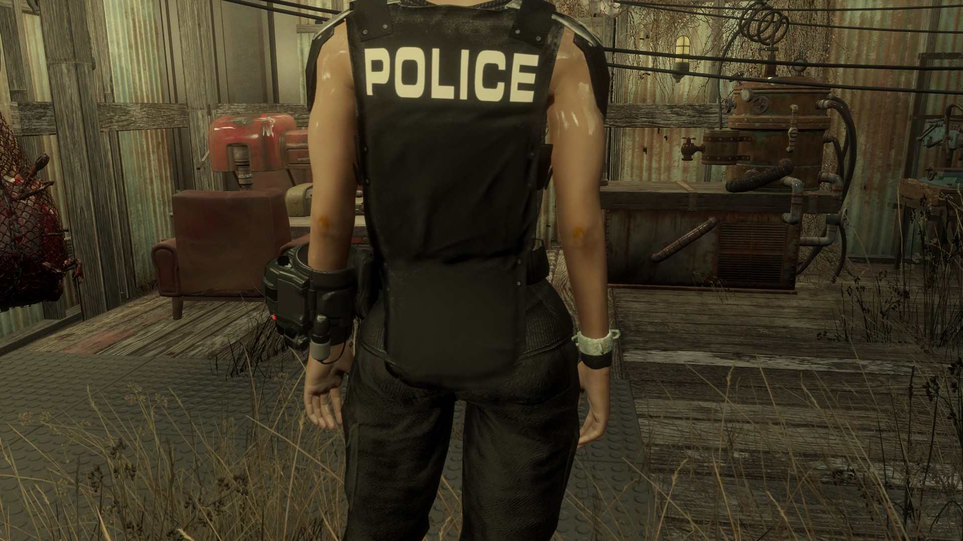 Riot vest fallout 4 mod police learn to read candlestick charts