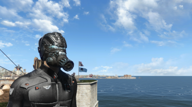 NanoArmor Helmet with gas mask