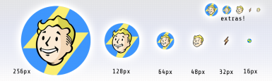 FALLOUT 4 HIGH-RES ICON SET ( png and  ico) at Fallout 4