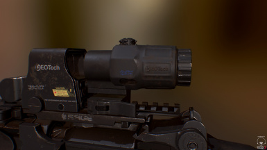 EOTech XPS3 with G33 Magnifier