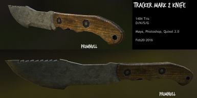 Tracker Knife Mark 2 by primnull